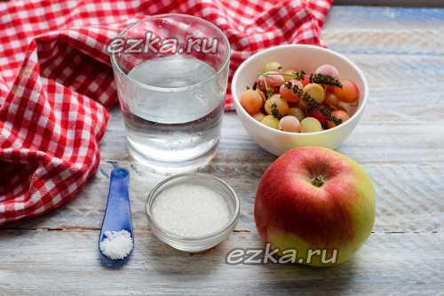 Компот из яблок на зиму: вкусно и полезно