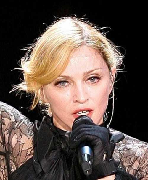 Мадонна вышла на сцену пьяная