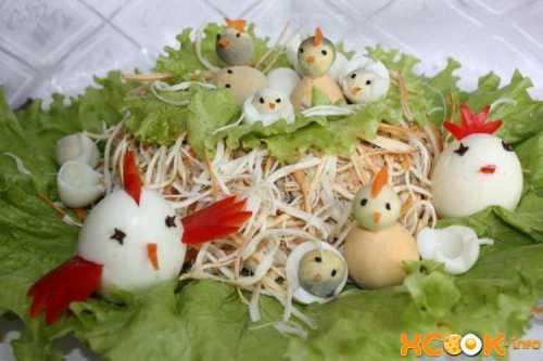 Пошаговый рецепт классического салата