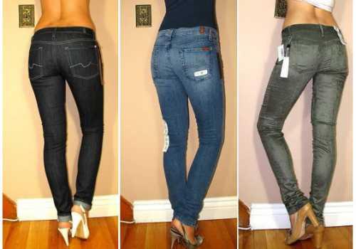 Как девушке выбирать джинсы