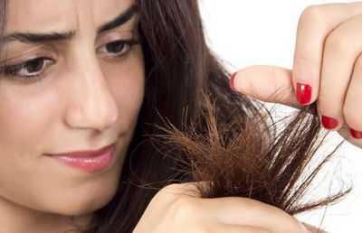 От чего секутся волосы