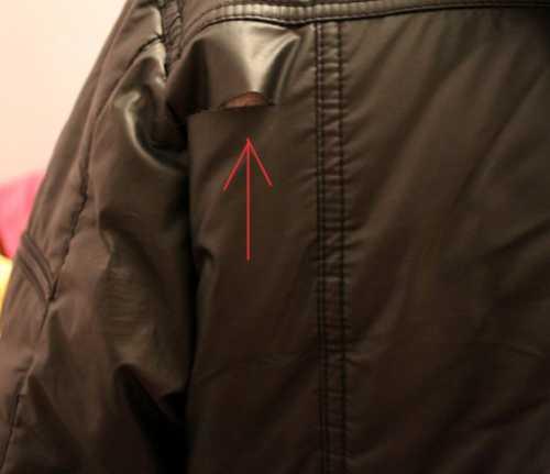 Как заклеить болоневую куртку