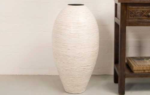 Изготовление напольной вазы своими руками